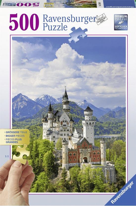 puzzel met XL puzzelstukjes - cadeau voor opa