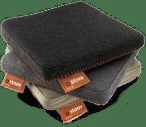 Verwarmd zitkussen stoov - cadeau man 65 jaar