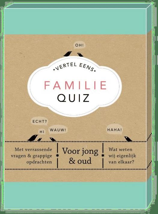 Familiequiz - Cadeau voor grootouders en kleinkind