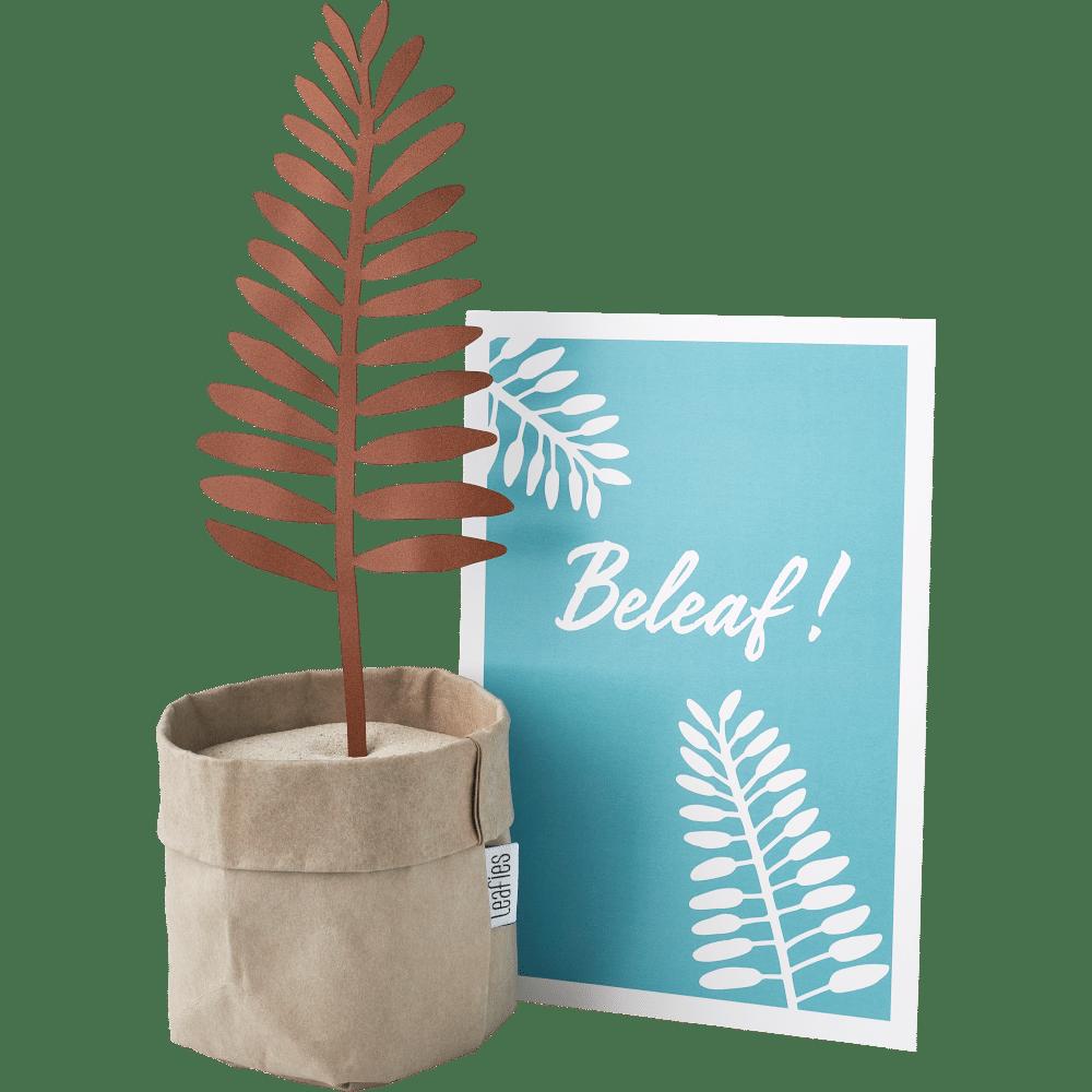 Brievenbuscadeau voor Opa en Oma - Leafies