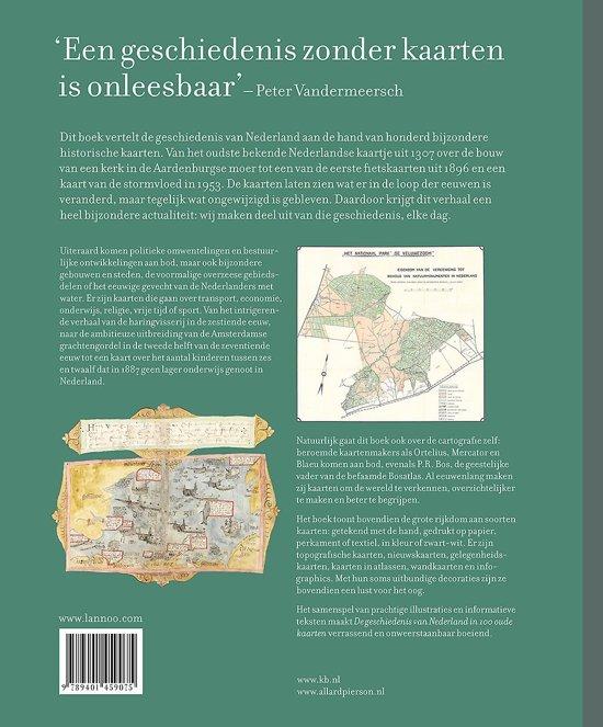cadeau voor oudere man - geschiedenis van Nederland in oude kaarten