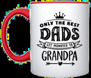 cadeau voor vader die opa wordt - mok