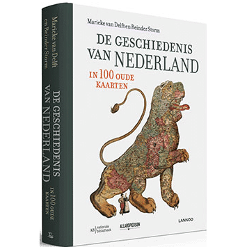 de geschiedenis van nederland in oude kaarten - cadeau voor opa