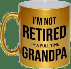 pensioen cadeau voor opa