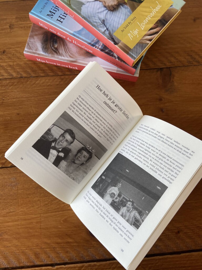 Online een autobiografie schrijven - Cadeau voor Opa